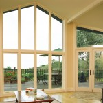 White panel polygons with french doors