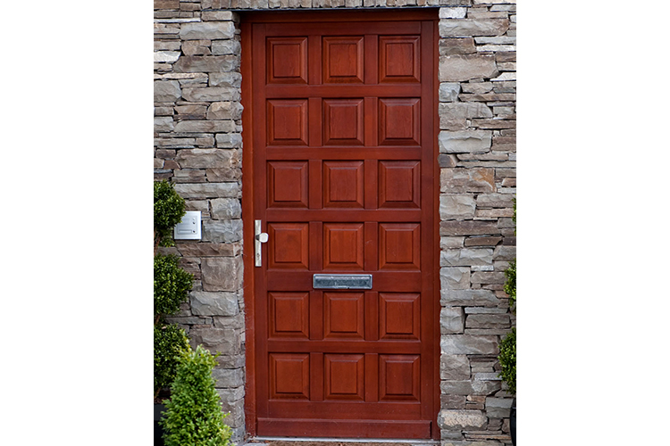 Multiple Panel Entrance Door