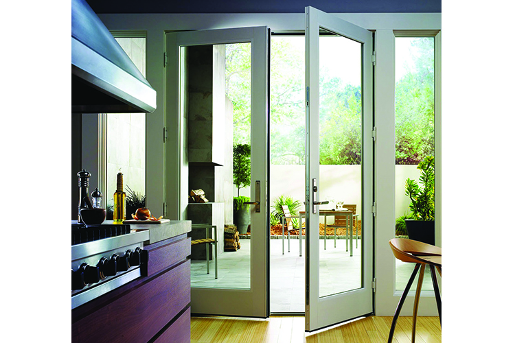 AluClad Wood French Door