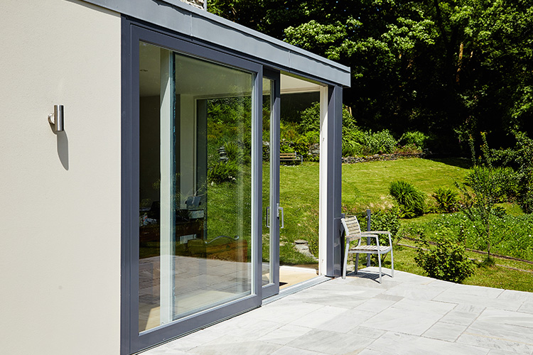 Aluminium Clad Wood Lift & Slide Doors