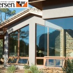 Andersen customized floor to ceiling window