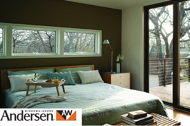 Andersen top hung window for bedroom