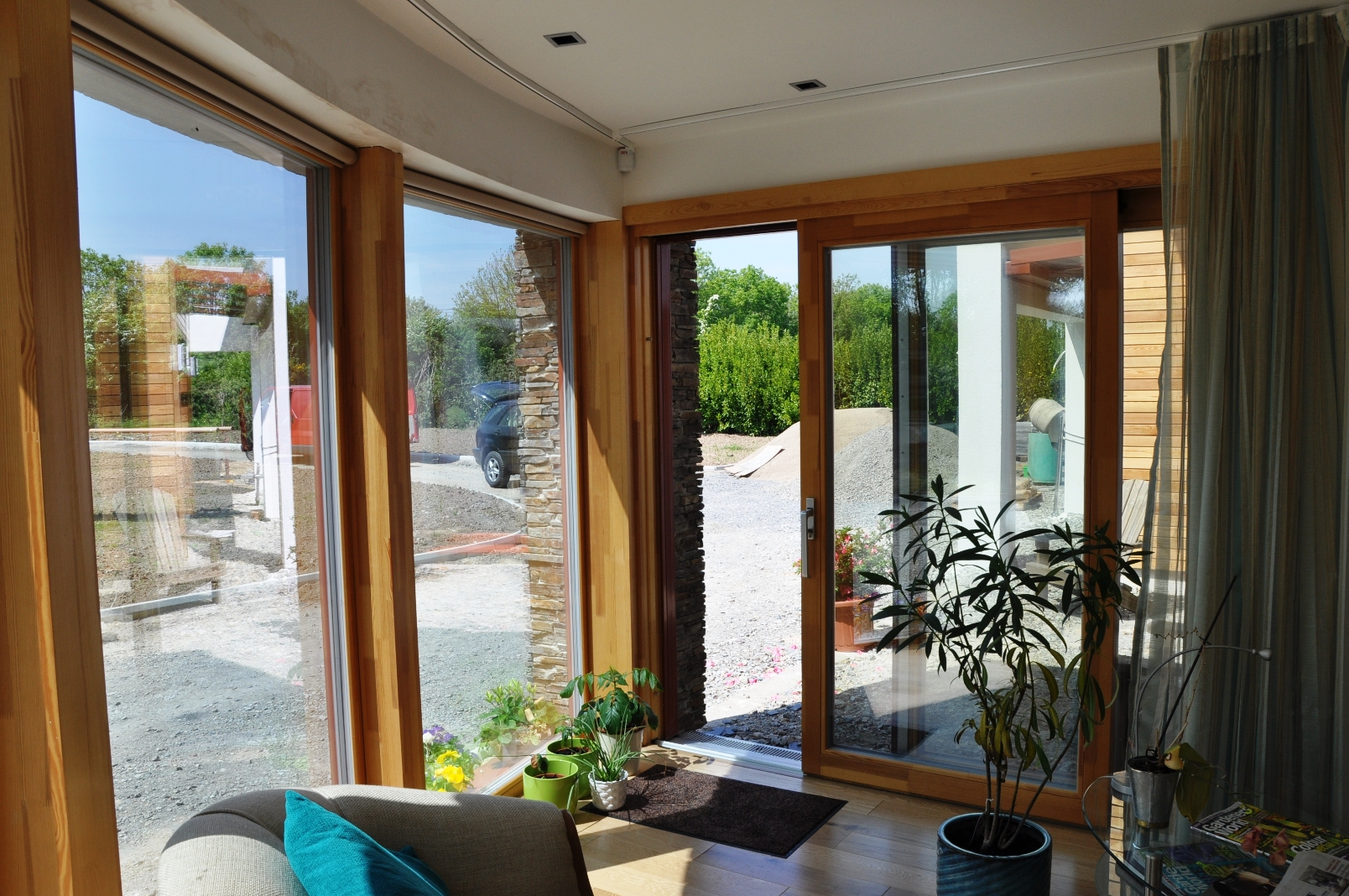 Aluminium Clad Wood Lift Slide Doors Gallery