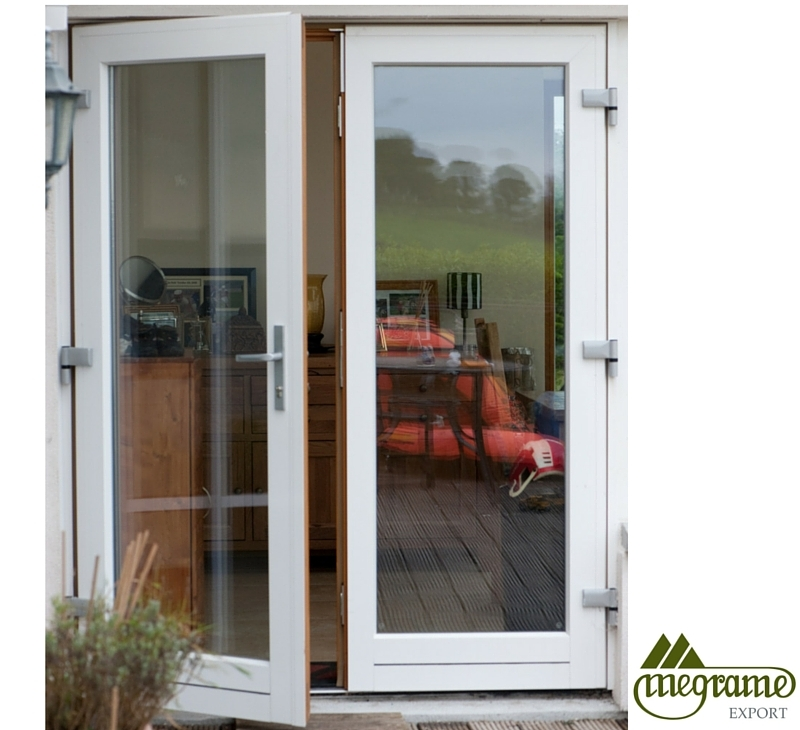 Clad doors 71 1 4 sc 1 st the home depot for Aluminum french doors