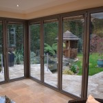 Signature bi-fold door combined with french door