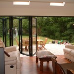 Signature bi-fold backdoor for garden
