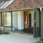 Signature alu doors for gardens