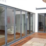 Signature Easifold doors with French doors