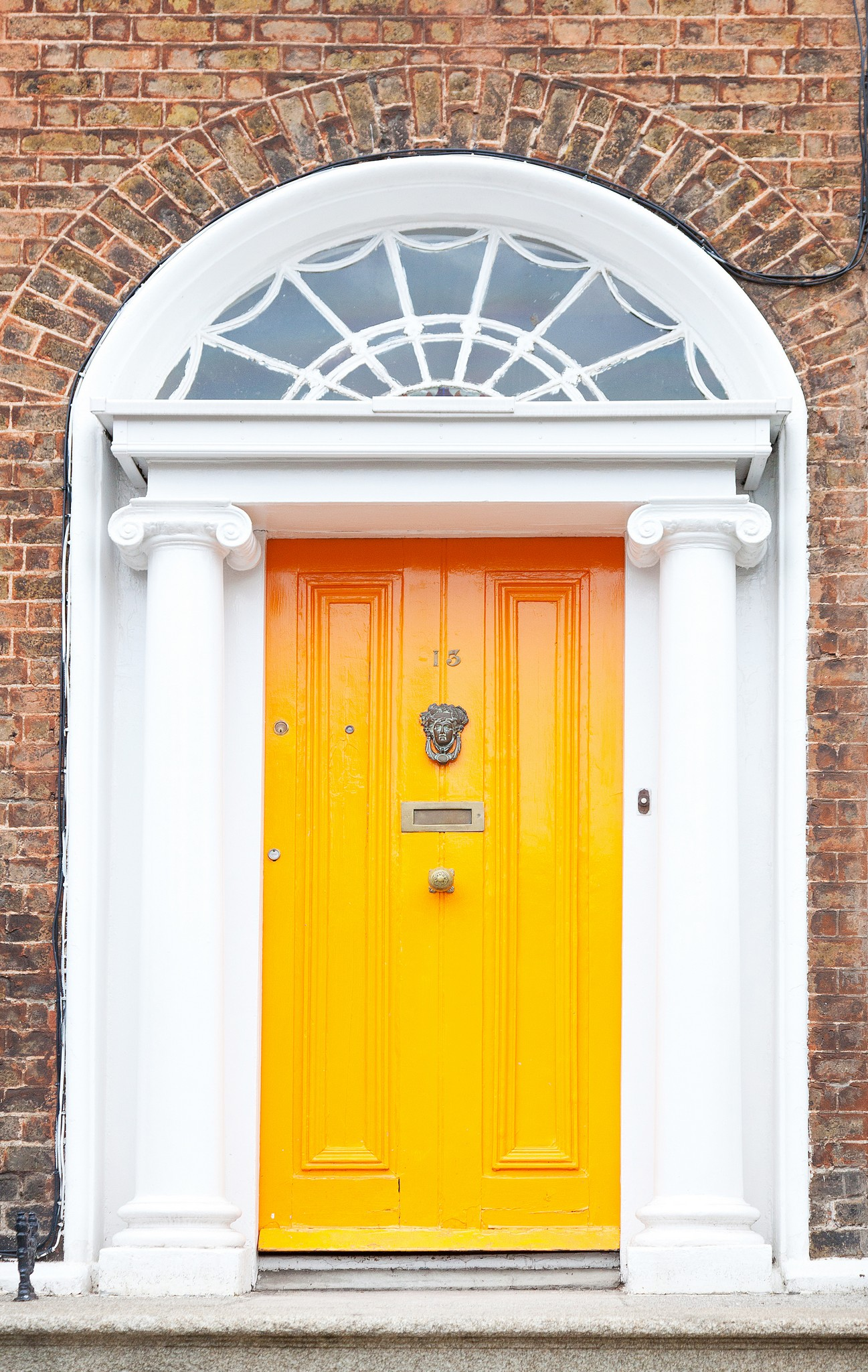Signature megrame doors for Victorian style homes