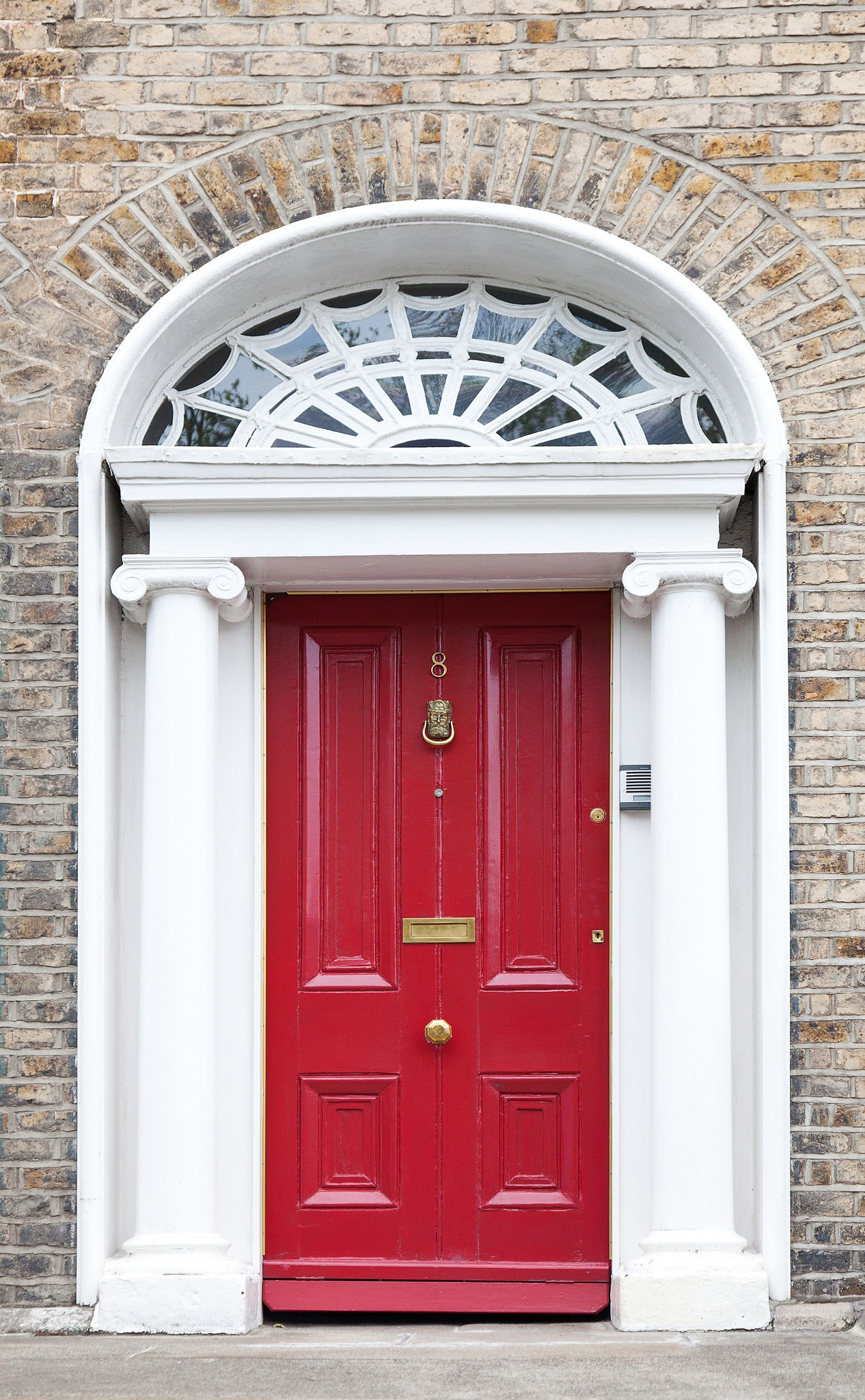 Signature megrame doors for Georgian style homes