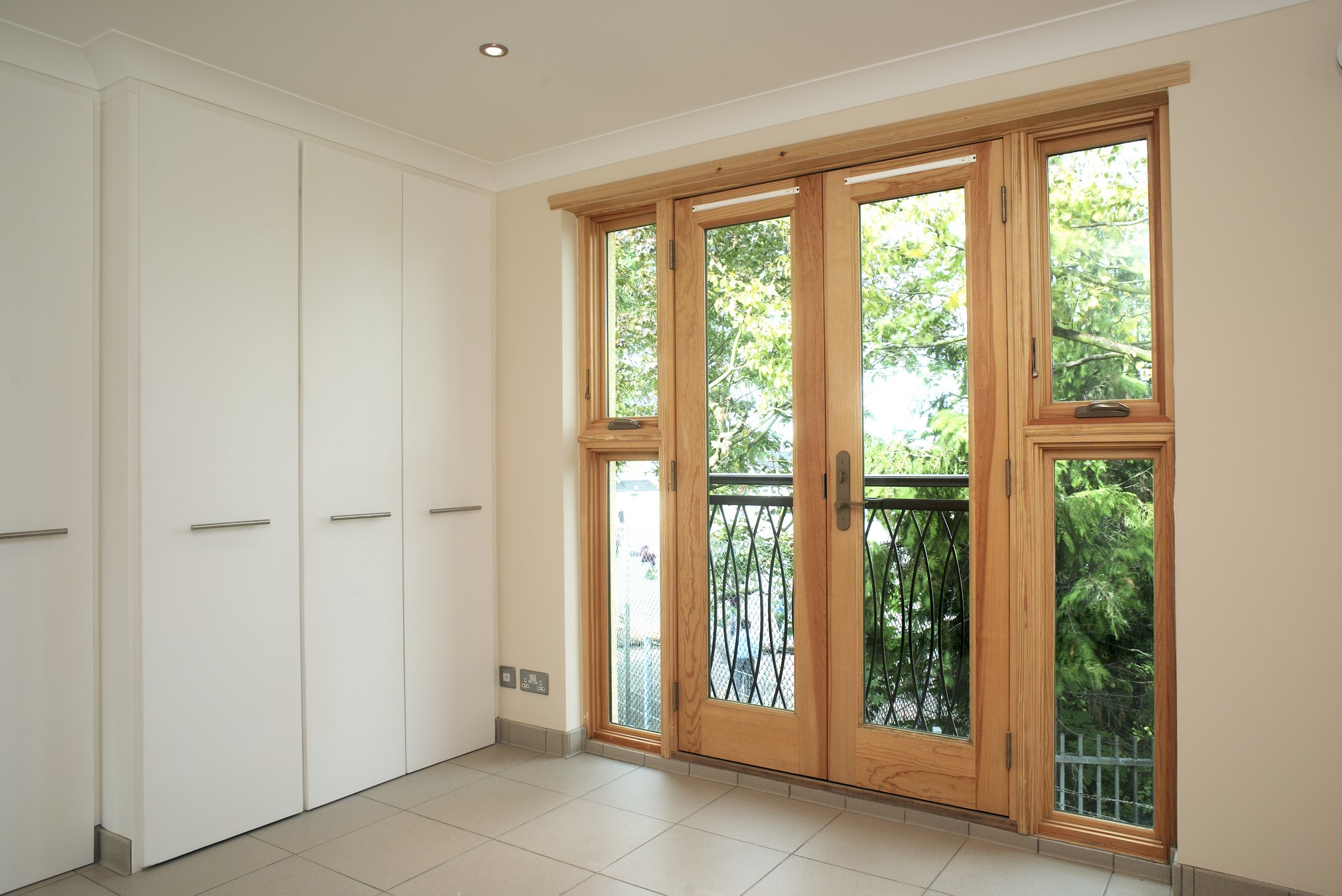 Signature Megrame Wood French Doors Signature