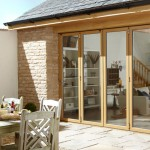 Signature bi-fold door for patio