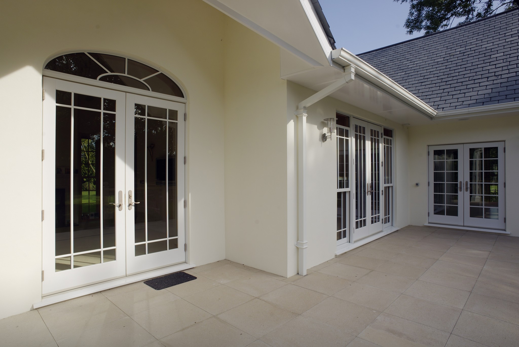 Signature french door for back entrances in urban homes