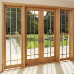French doors with glazing bars