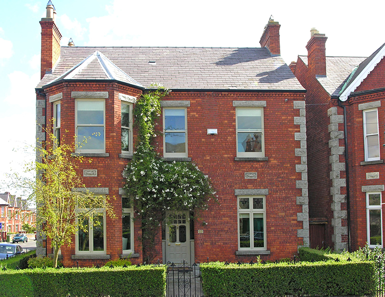Edwardian Red brick Semi Detached Building