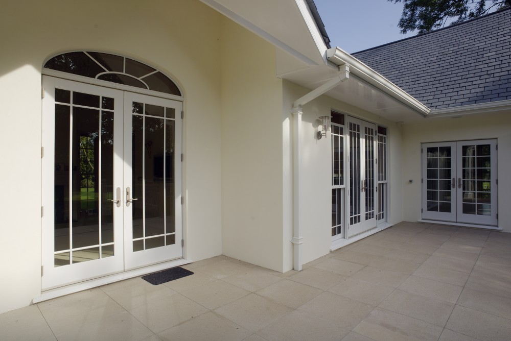 Residence with Extended French Doors