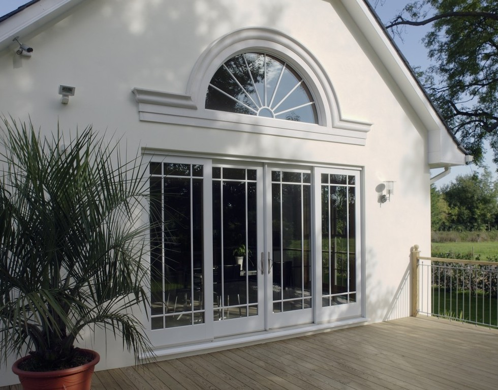 Queen Anne Sliding Door