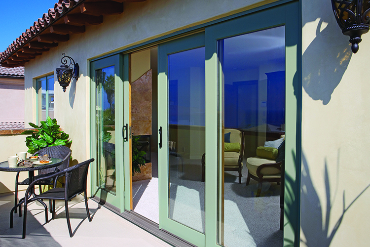 Aluminium Clad Wood Sliding Patio Door