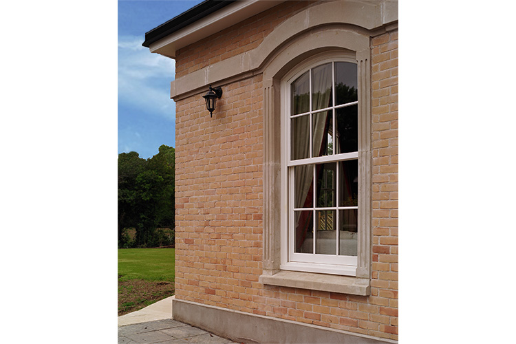 AluClad Sash Round Top Window