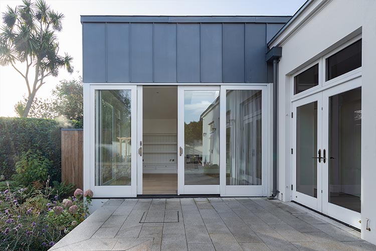 Kitchen Sliding French Door With Aluminium Exterior