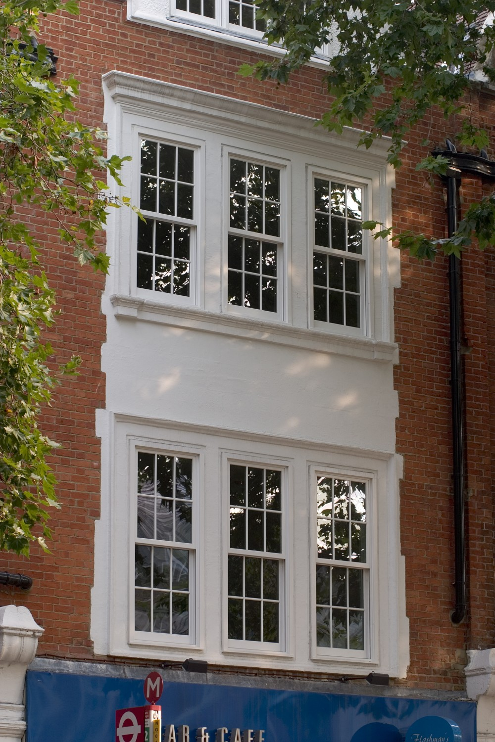 Sliding sash widow style for apartments