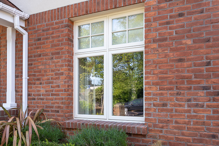 Double Glazed Timber Casement Windows White Finish