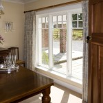 Traditional casement style window for dining room