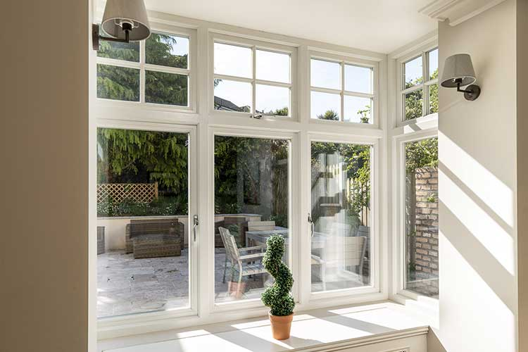 Wood Casement Windows Ireland
