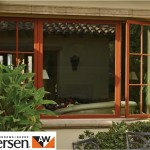 Andersen casement window for living room