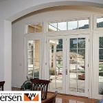 Andersen traditional wood french doors