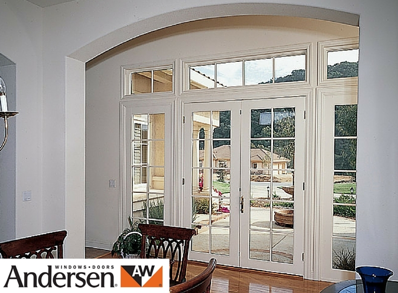 Signature aluminium clad wood french doors gallery for Andersen french doors