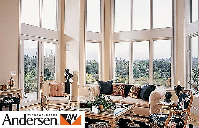 Andersen wood french doors
