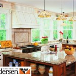 Andersen sash in kitchen