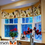 Andersen sash with traditional white wood panel