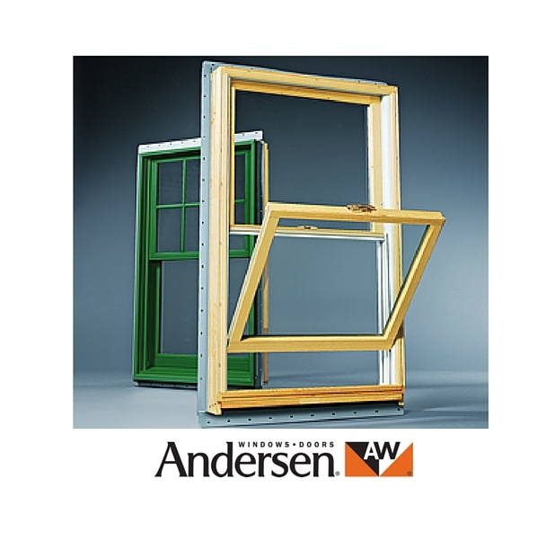 Andersen sash window with tilt feature