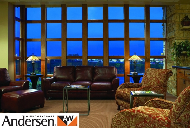 Andersen floor to ceiling window for living rooms.