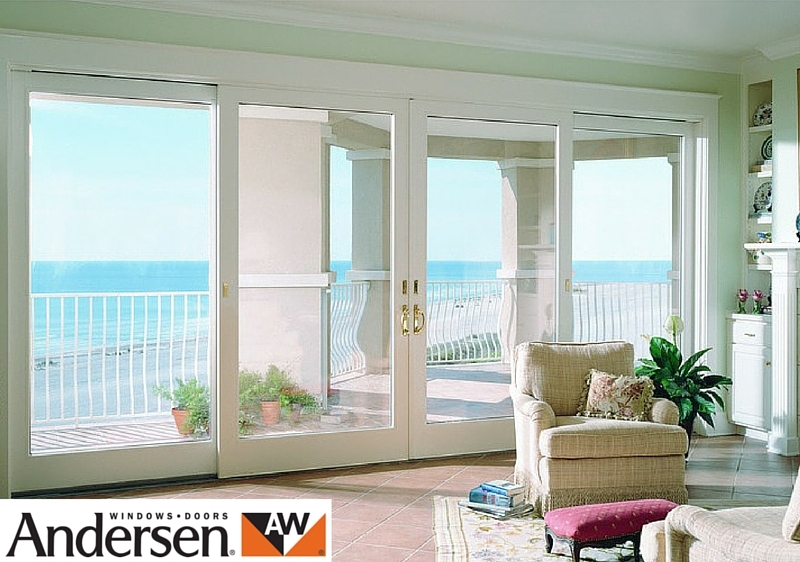 Andersen aluminium clad wood sliding french doors gallery for Andersen exterior french doors