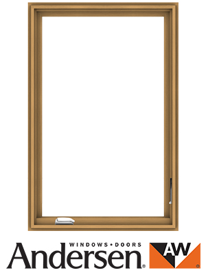 Andersen Casement Window With Logo