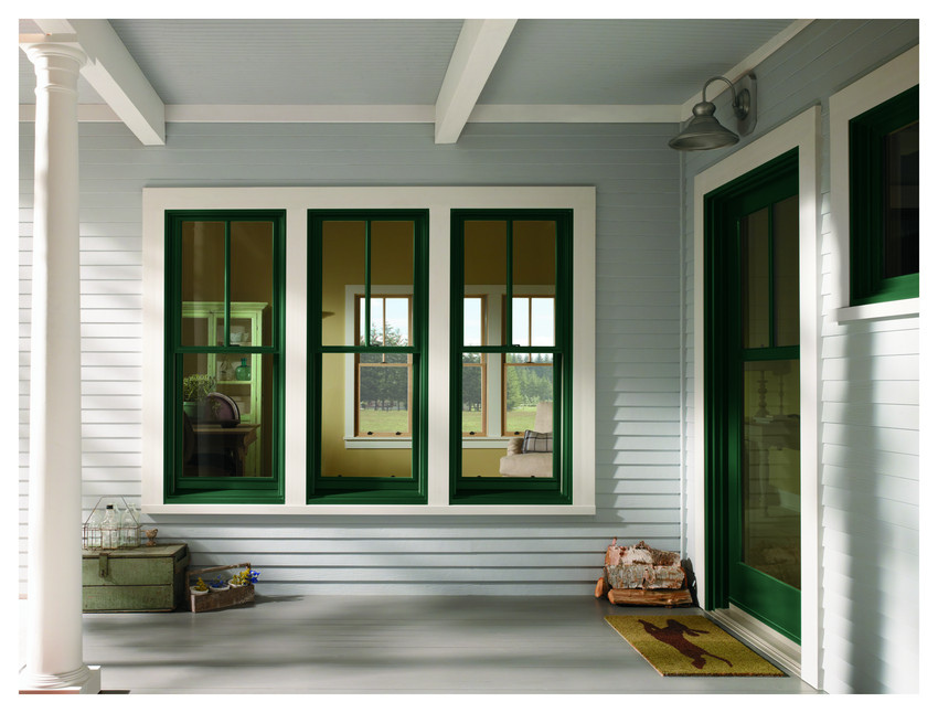Alu-clad Sliding Sash Windows