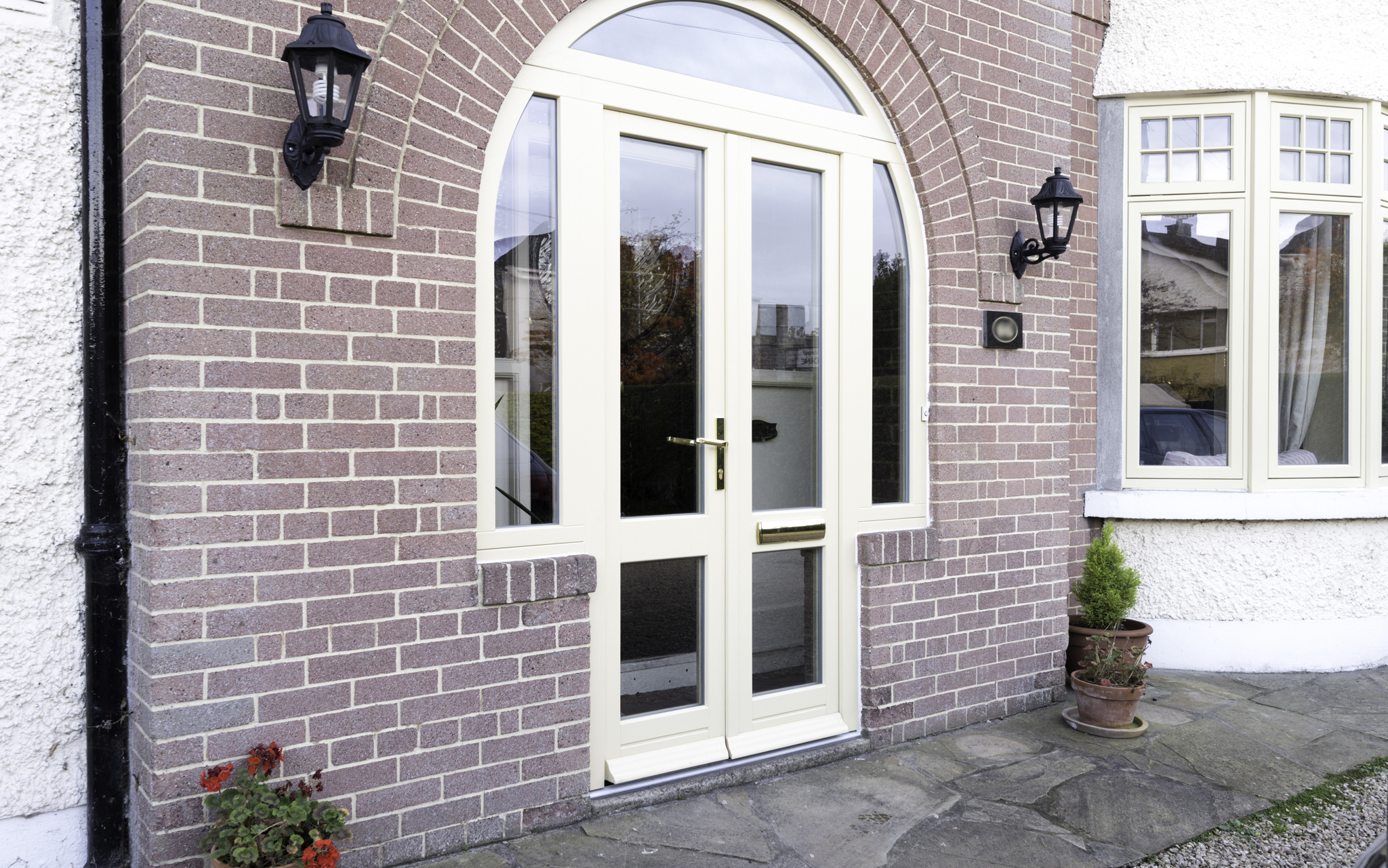 Entrance Door Glass Wood