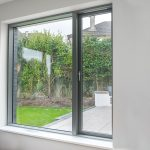 Grey Aluclad Windows With Ultra Slim Frame