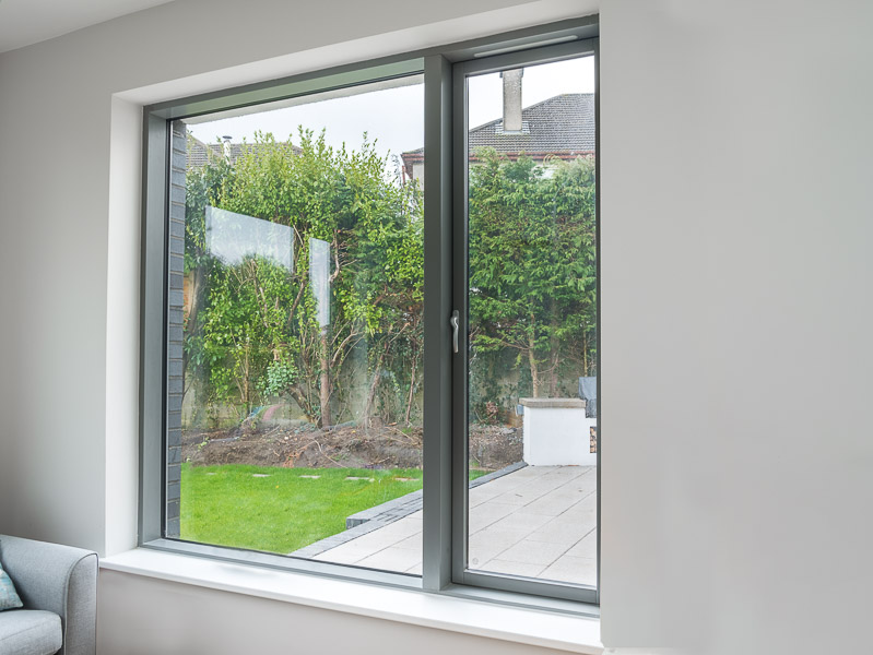 Triple Glazed Aluclad Windows