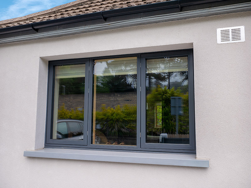 Aluminium Clad Wood Near Passive Window