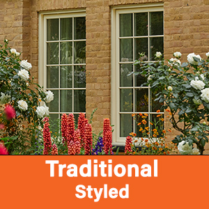 Traditional Styled AluClad Wood Windows