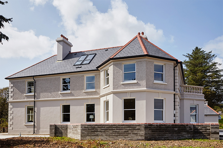 Peroid Home Featuring Conservation Style Sliding Sash Windows