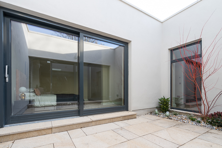 Aluminium Clad Wood Sliding Door