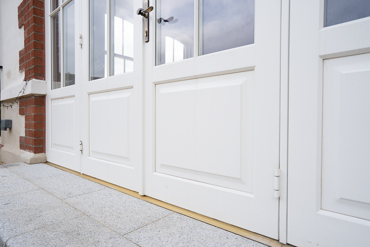 French Door With Raised Panel