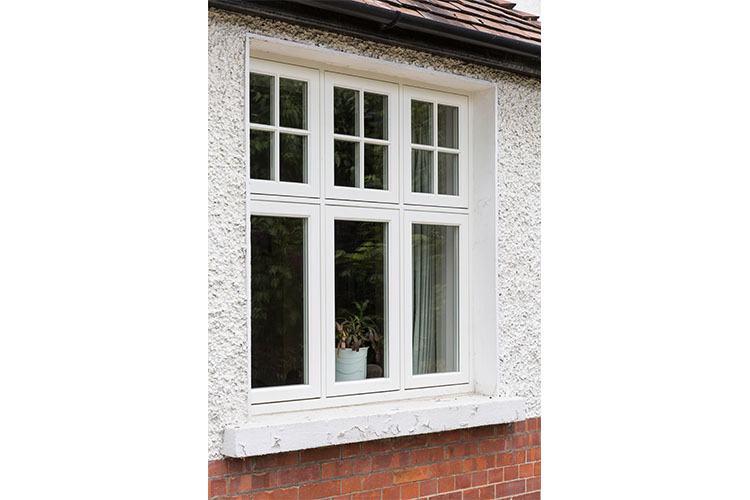 Flush Casement Windows With Glazing Bars