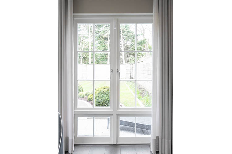 Casement Windows White Interior