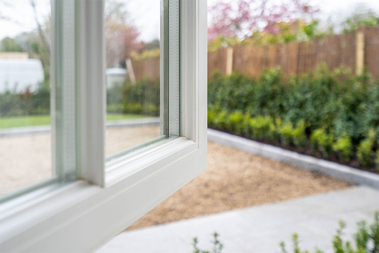 Slim Double Glazing Section Detail